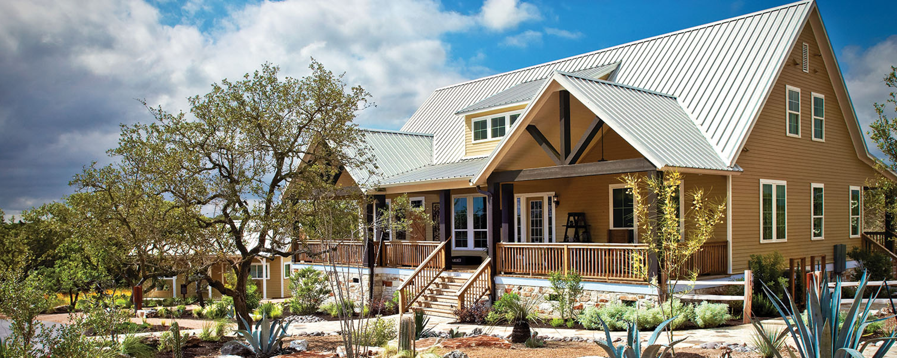gallery round model exterior park cottages texas wimberley home casual top